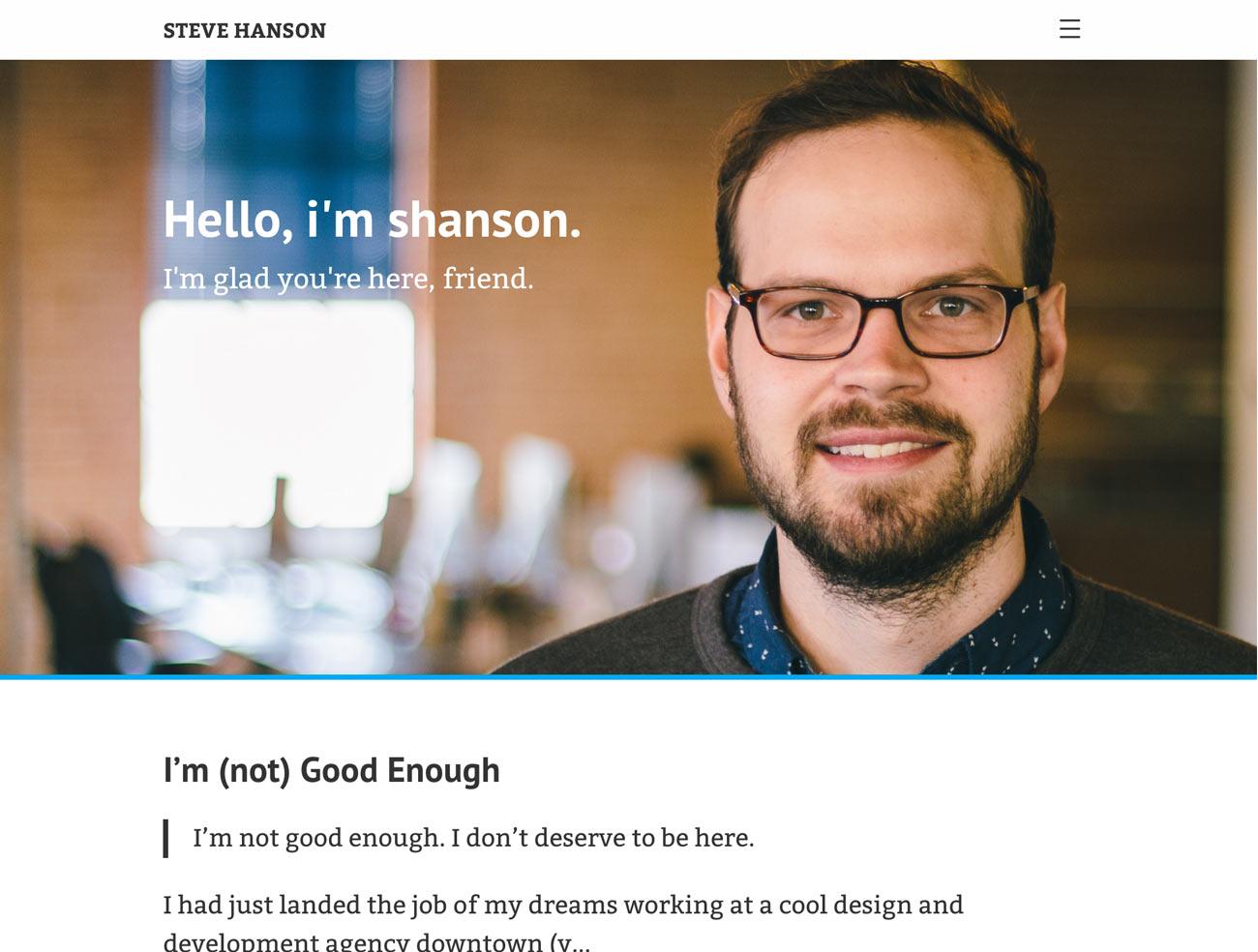 First site design
