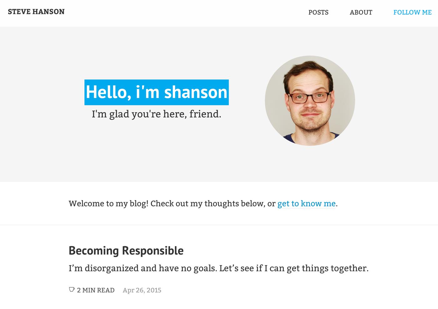 Second site design